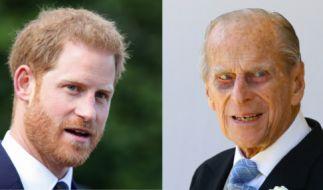 Prinz Harry soll ein ganz besonderes Verhältnis zu seinem Großvater Prinz Philip haben. Dennoch scheint Harry nicht immer auf die Worte seinem Opas hören zu wollen... (Foto)