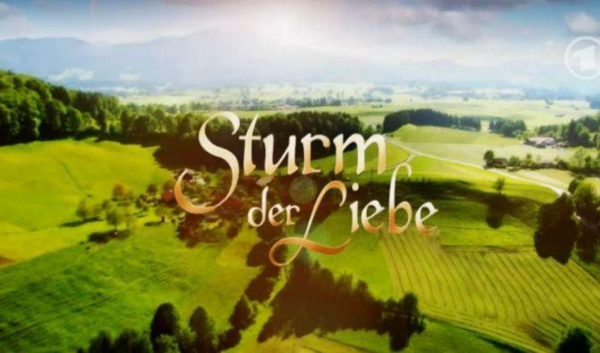 """""""Sturm der Liebe"""" im Live-Stream und TV"""