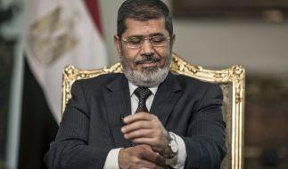 Mohammed Mursi, der damalige Präsident von Ägyptens, ist tot. (Foto)