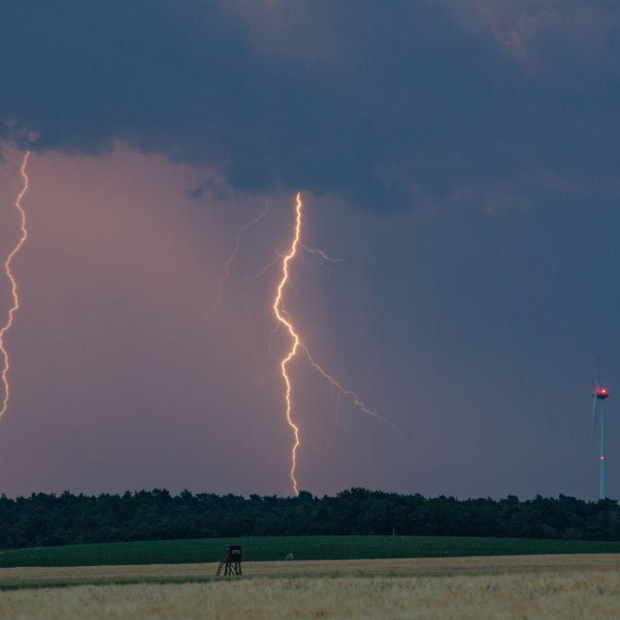 Superzellen- und Tornado-Alarm! Unwetter-Warnung für DIESE Regionen (Foto)
