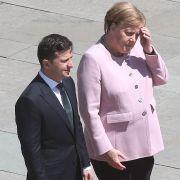 Mutet sich die Bundeskanzlerin trotz gesundheitlicher Probleme zu viel zu? (Foto)