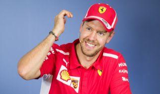 Formel-1-Rennfahrer Sebastian Vettel hat seine Freundin Hanna geheiratet. (Foto)