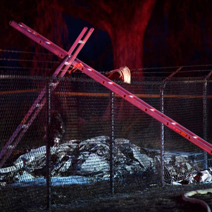 Keine Überlebenden! Elf Menschen sterben bei Flugzeugabsturz (Foto)