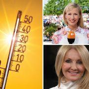 """Sahara-Hitze rollt an +++ Frauke Ludowig """"oben ohne"""" +++ ZDF-Fernsehgarten fällt höllisch durch +++ (Foto)"""