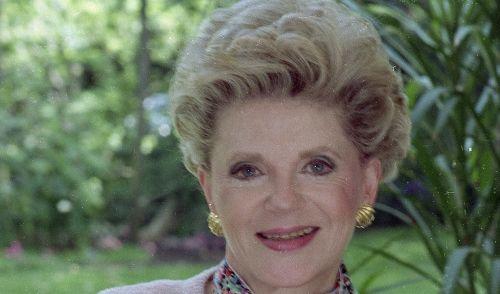 Judith Krantz, US-amerikanische Autorin und Journalistin (9.01.1928 - 22.06.2019) (Foto)