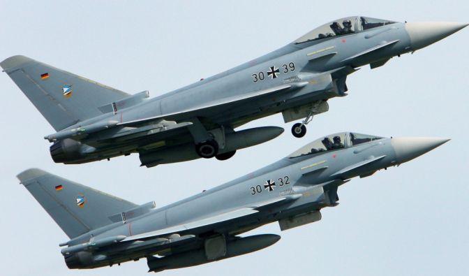 Eurofighter-Absturz in Mecklenburg-Vorpommern