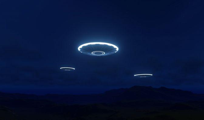 Die US-Navy veröffentlichte angebliches Ufo-Video. (Symbolbild)