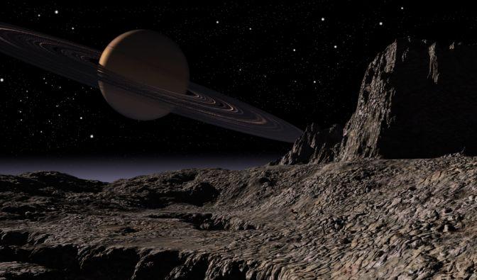 Spektakulärer Fund auf Titan
