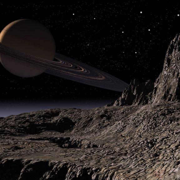 """Nasa entdeckt """"außerirdische Kristalle"""" auf Saturnmond (Foto)"""