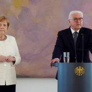 Erneuter Zitter-Anfall! Große Sorge um die Kanzlerin (Foto)
