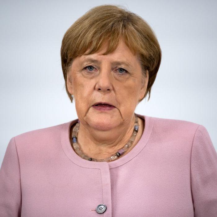 DAS sagt die Kanzlerin über die Zitter-Anfälle (Foto)