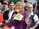 """Seit 33 Jahren empfängt Andrea Kiewel Schlagerstars im """"ZDF-Fernsehgarten"""" - Géraldine Olivier muss jedoch draußen bleiben. (Foto)"""
