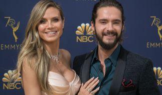 Heidi Klum schwebt mit Tom Kaulitz auf Wolke 7. (Foto)