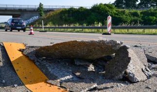 Blow-ups auf Autobahnen können zur tödlichen Gefahr werden. (Foto)