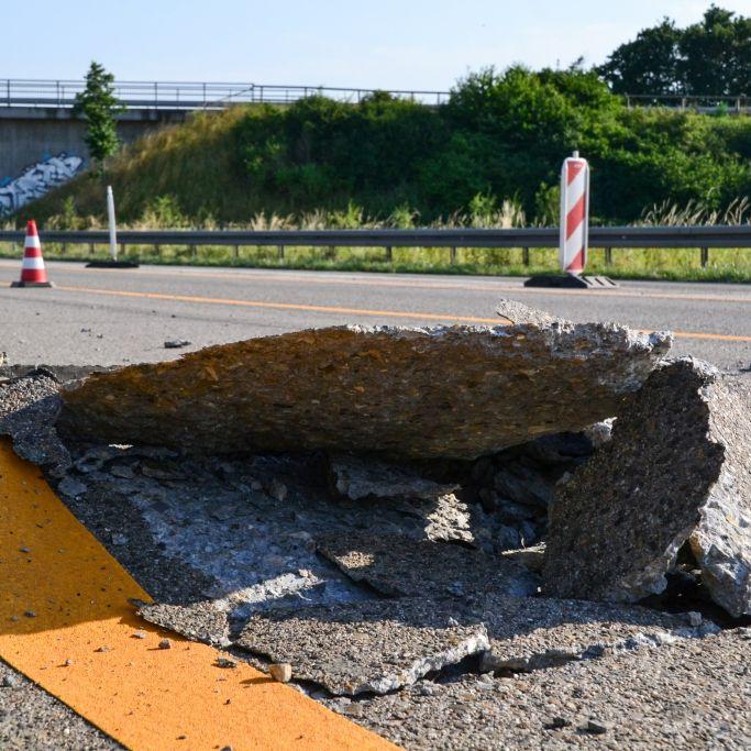 Auf diesen Autobahnen gelten wegen der Hitze Tempolimits (Foto)