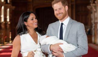 Die Liebe von Herzogin Meghan und Prinz Harry wurde mit der Geburt von Archie gekrönt. (Foto)