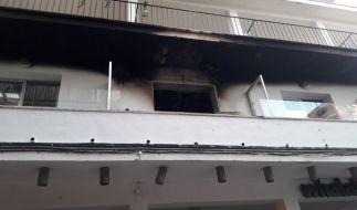 Wegen eines Feuers in einem Hotel mussten 600 Urlauber vorübergehend in Sicherheit gebracht werden. (Foto)