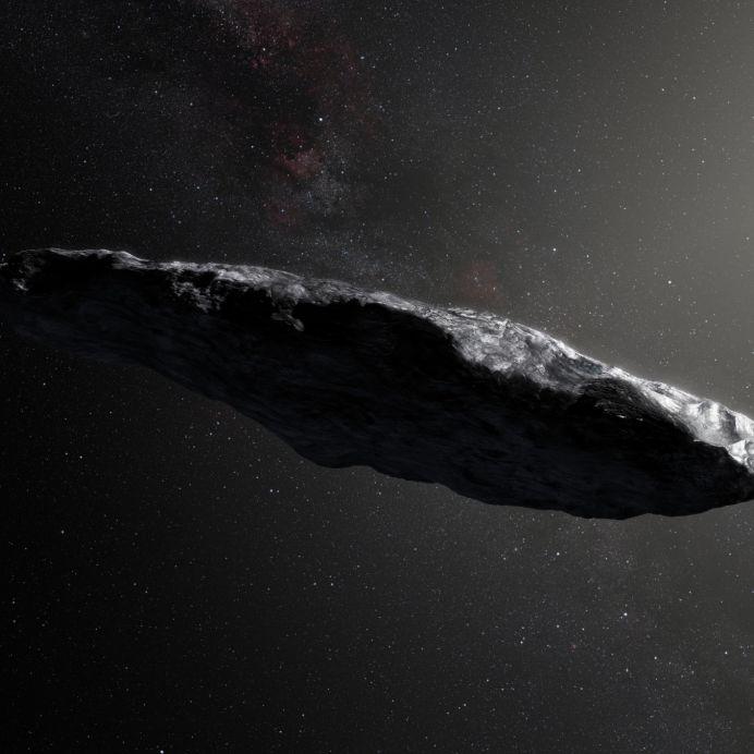 Asteroid oder Alien-Raumschiff? Forschen lösen Ufo-Rätsel (Foto)