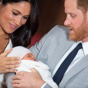 Staatsgeheimnis! Wer werden die Taufpaten von Herzogin Meghans Sohn? (Foto)