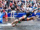 Am Wochenende steigt der Hamburg Wasser World Triathlon 2019. (Foto)