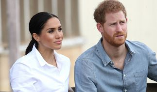 Meghan Markle und ihr Ehemann Prinz Harry müssen sich einige Kritik an ihrem Engagement für den Klimaschutz gefallen lassen. (Foto)