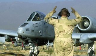 Eine AC-10 Thundebolt verlor über Florida drei Übungsbomben. Das Flugzeug gilt als stärkste Waffe im Kampf gegen Bodenziele. (Foto)