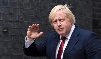 Boris Johnson: Selbstsicher auf dem Weg raus aus der EU. (Foto)