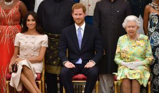 Die Queen kommt nicht zur Taufe von Meghans Sohn Archie. (Foto)