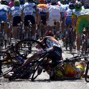 DAS sind die krassesten Stürze der Tour-de-France (Foto)