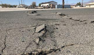 Innerhalb weniger Tage wurde Südkalifornien erneut von einem heftigen Erdbeben erschüttert. (Foto)
