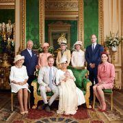Auch Prinz William und Herzogin Kate ließen sich die Taufe von Baby Archie nicht entgehen.