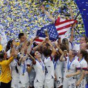 US-Frauen sind Weltmeister nach 2:0 gegen die Niederlande (Foto)