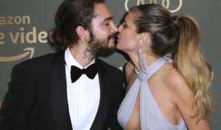 Tom Kaulitz und Heidi Klum sind schwer verliebt. (Foto)