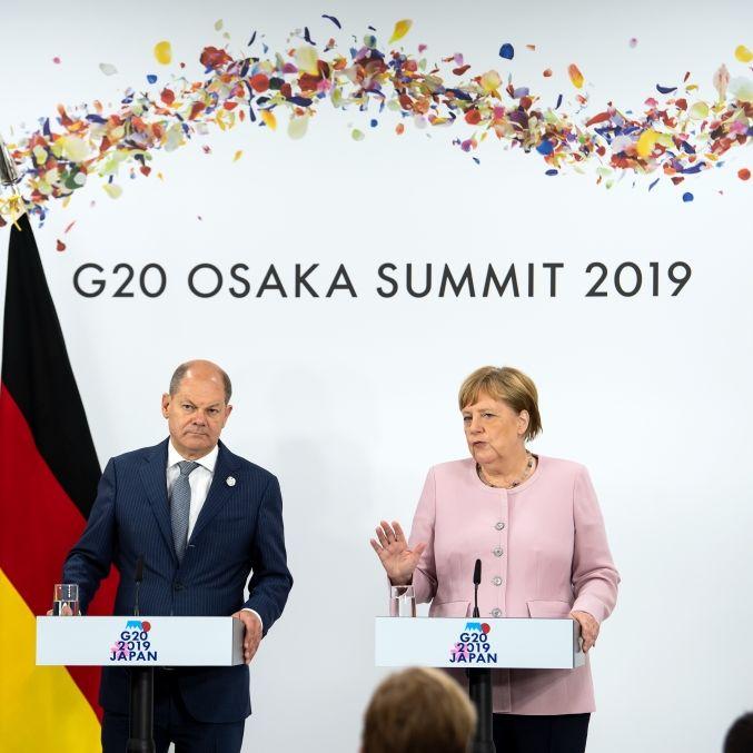 Wann der Vizekanzler für Angela Merkel einspringen muss (Foto)