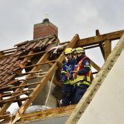 In Rheinland-Pfalz soll ein Tornado einen sechsstelligen Sachschaden verursacht haben.