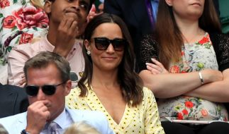Dieses Outfit hatte Pippa Middleton wohl nicht gut bedacht. (Foto)
