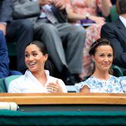 Zum Wimbledon-Finale ging Pippa auf Nummer sicher.