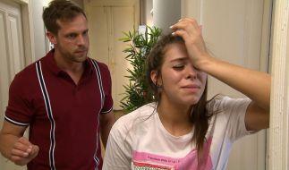 Sie wurde angegriffen und verletzt! In der Sendung und real! (Foto)
