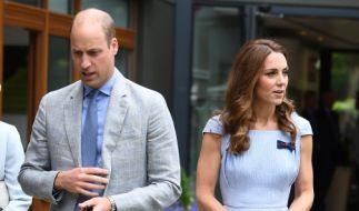Prinz William, Herzog von Cambridge, wirkte bei seinem Wimbledon-Besuch nicht sonderlich glücklich. (Foto)