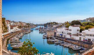 Der Küstenort Ciutadella wurde von einer Rissaga getroffen. (Foto)