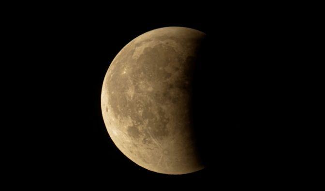 Mondfinsternis am 16.07.2019