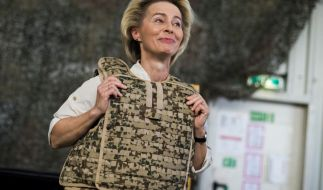 Ursula von der Leyen hat ihren Rücktritt als Bundesverteidigungsministerin angekündigt. (Foto)