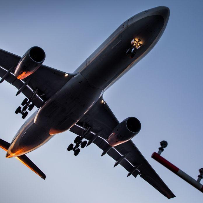 Landendes Flugzeug verfehltnur knapp Touristen (Foto)