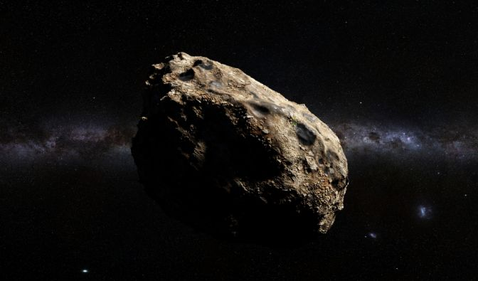 Asteroid am 19.07.2019