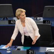 Ursula von der Leyen stellt sich am Dienstag in Brüssel zur Wahl zur EU-Kommissionspräsidentin.