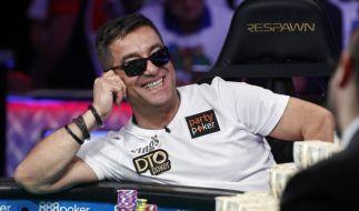 Hossein Ensan, deutsch-iranischer Pokerspiele hat die Poker-Weltmeisterschaft in Las Vegas gewonnen. (Foto)