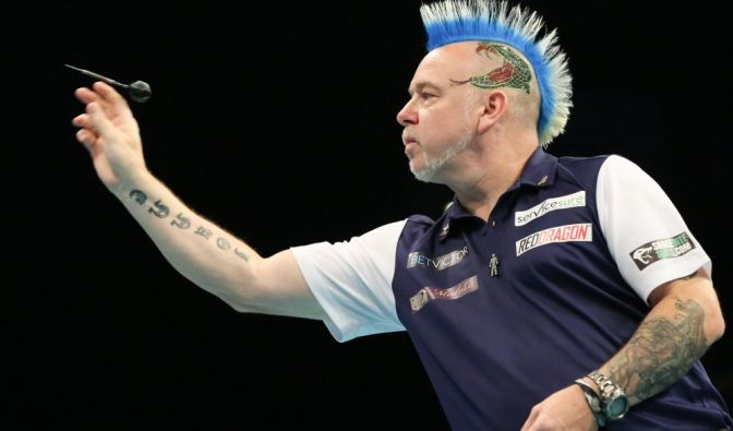 Peter Wright Privat