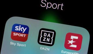 Ab sofort strahlt DAZN einige Bundesliga-Spiele aus. (Foto)