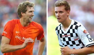 """Dirk Nowitzki und Mick Schumacher führen auch 2019 das Benefiz-Fußballturnier """"Champions for Charity"""" zu Ehren von Michael Schumacher an. (Foto)"""