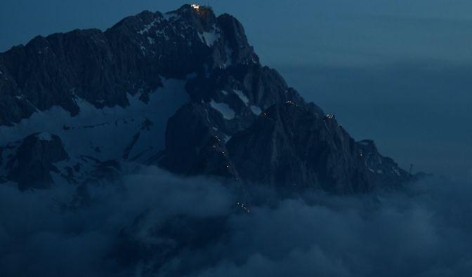 Flugzeugunglück in den Tiroler Alpen